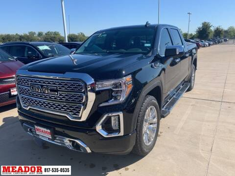 2021 GMC Sierra 1500 for sale at Meador Dodge Chrysler Jeep RAM in Fort Worth TX
