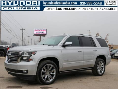 2016 Chevrolet Tahoe for sale at Hyundai of Columbia Con Alvaro in Columbia TN