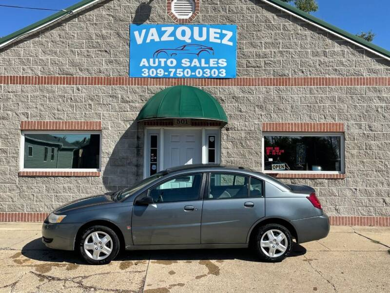 2006 Saturn Ion for sale at VAZQUEZ AUTO SALES in Bloomington IL