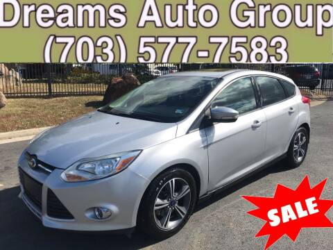 2014 Ford Focus for sale at Dreams Auto Group LLC in Sterling VA