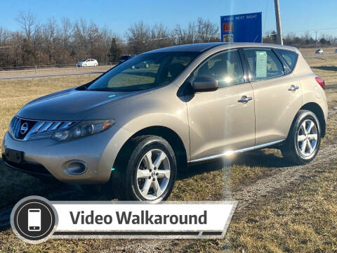 2009 Nissan Murano for sale at Top Quality Motors & Tire Pros in Ashland MO