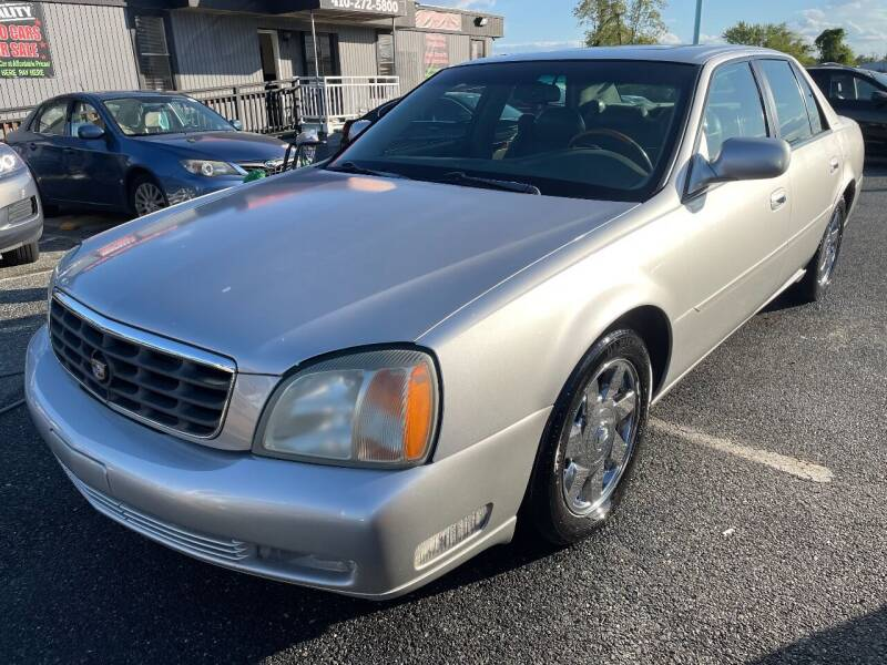 2002 Cadillac DeVille for sale at GORDON'S ELITE 2 in Aberdeen MD