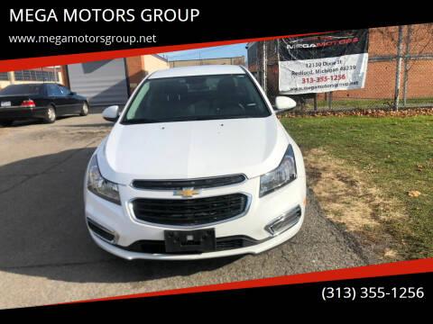 2015 Chevrolet Cruze for sale at MEGA MOTORS GROUP in Redford MI