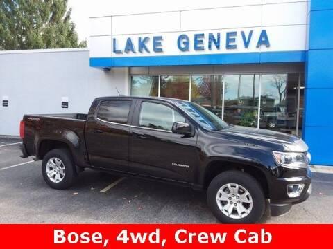 2019 Chevrolet Colorado for sale at LAKE GENEVA CHEVROLET LLC in Lake Geneva WI