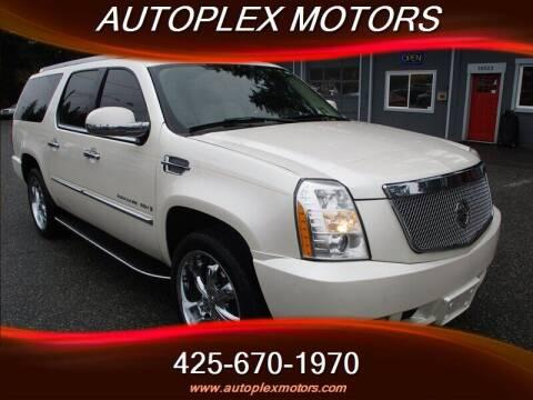 2007 Cadillac Escalade ESV for sale at Autoplex Motors in Lynnwood WA