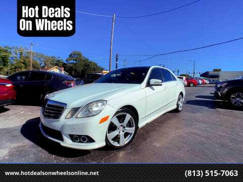 2010 Mercedes-Benz E-Class for sale at Hot Deals On Wheels in Tampa FL