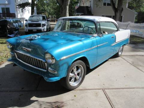 1955 Chevrolet Bel Air for sale at Island Classics & Customs in Staten Island NY