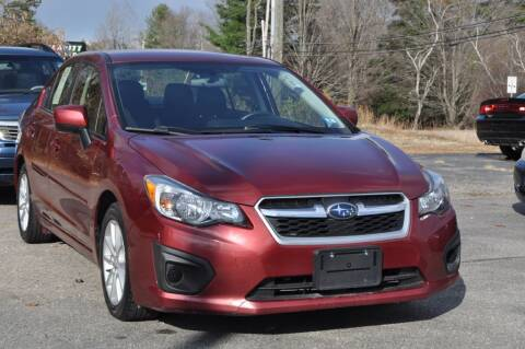 2014 Subaru Impreza for sale at Amati Auto Group in Hooksett NH