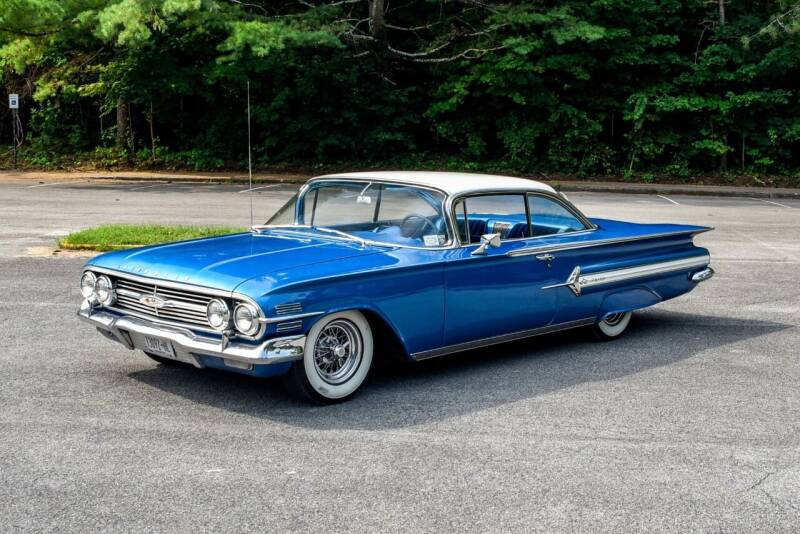 1960 Chevrolet Impala for sale at Great Lakes Classic Cars & Detail Shop in Hilton NY