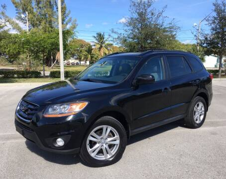 2011 Hyundai Santa Fe for sale at FIRST FLORIDA MOTOR SPORTS in Pompano Beach FL