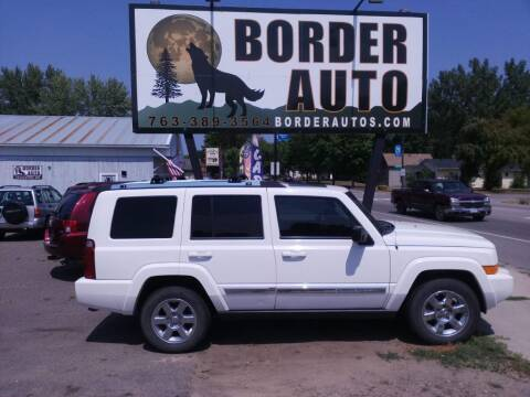 2008 Jeep Commander for sale at Border Auto of Princeton in Princeton MN