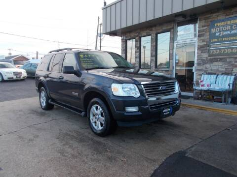 2007 Ford Explorer for sale at Preferred Motor Cars of New Jersey in Keyport NJ