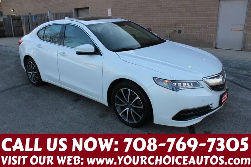 2015 Acura TLX for sale at Your Choice Autos in Posen IL
