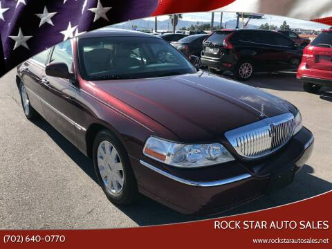 2004 Lincoln Town Car for sale at Rock Star Auto Sales in Las Vegas NV