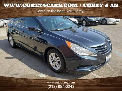 2011 Hyundai Sonata for sale at WWW.COREY4CARS.COM / COREY J AN in Los Angeles CA
