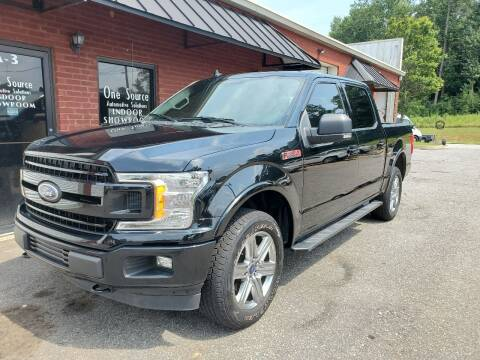 2018 Ford F-150 for sale at One Source Automotive Solutions in Braselton GA