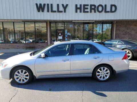 2006 Honda Accord for sale at Willy Herold Automotive in Columbus GA