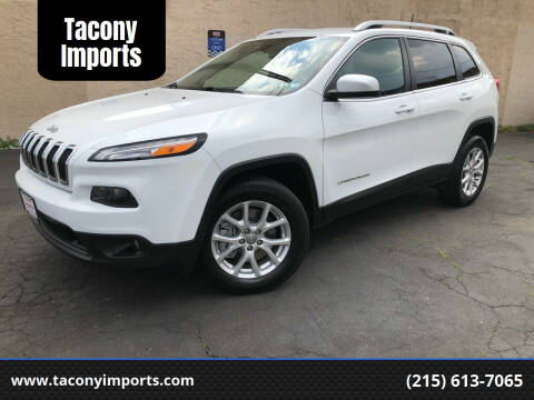 2017 Jeep Cherokee for sale at Tacony Imports in Philadelphia PA