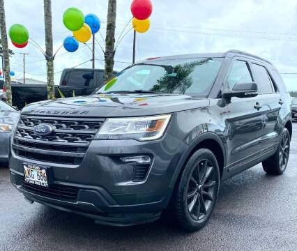 2018 Ford Explorer for sale at PONO'S USED CARS in Hilo HI