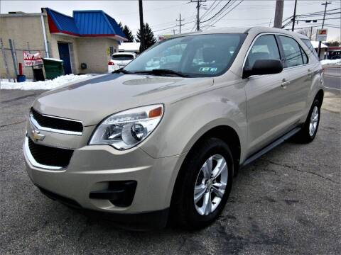 2011 Chevrolet Equinox for sale at New Concept Auto Exchange in Glenolden PA