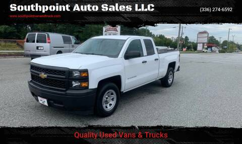 2014 Chevrolet Silverado 1500 for sale at Southpoint Auto Sales LLC in Greensboro NC