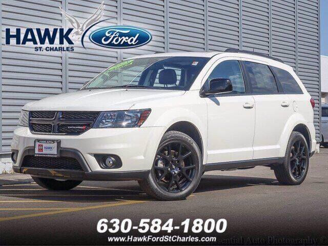 2018 Dodge Journey for sale at Hawk Ford of St. Charles in Saint Charles IL