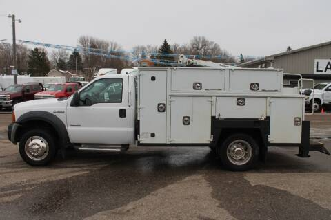 2007 Ford F-550 Super Duty for sale at LA MOTORSPORTS in Windom MN