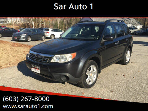 2009 Subaru Forester for sale at Sar Auto 1 in Belmont NH