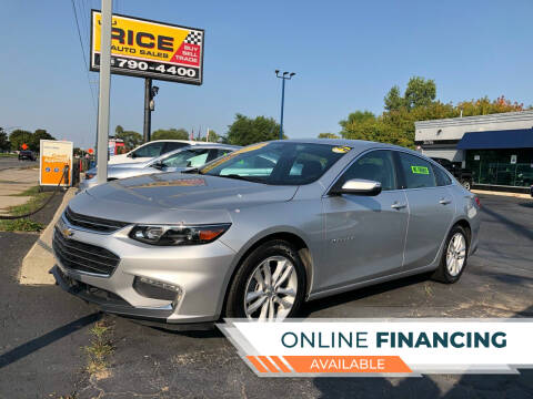 2017 Chevrolet Malibu for sale at Lou Rice Auto Sales in Clinton Township MI