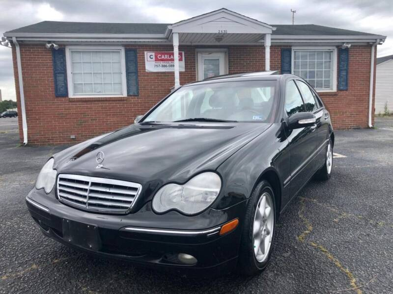 2003 Mercedes-Benz C-Class for sale at Carland Auto Sales INC. in Portsmouth VA