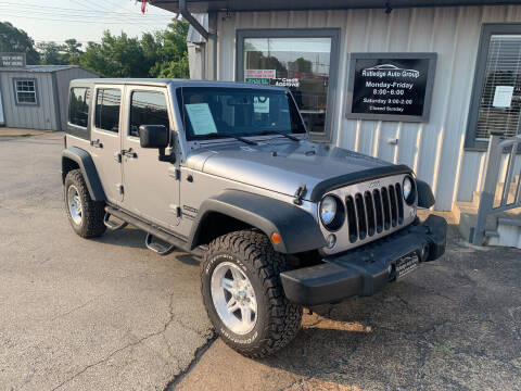 2014 Jeep Wrangler Unlimited for sale at Rutledge Auto Group in Palestine TX