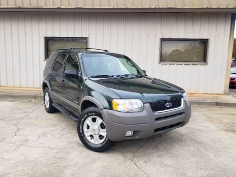 2002 Ford Escape for sale at M & A Motors LLC in Marietta GA