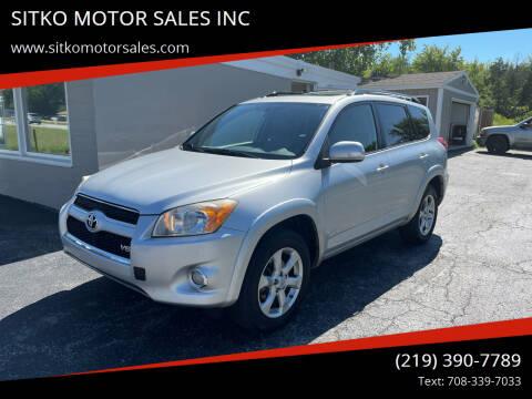 2010 Toyota RAV4 for sale at SITKO MOTOR SALES INC in Cedar Lake IN