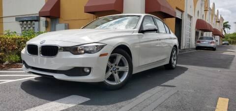 2015 BMW 3 Series for sale at POLLO AUTO SOLUTIONS in Miami FL