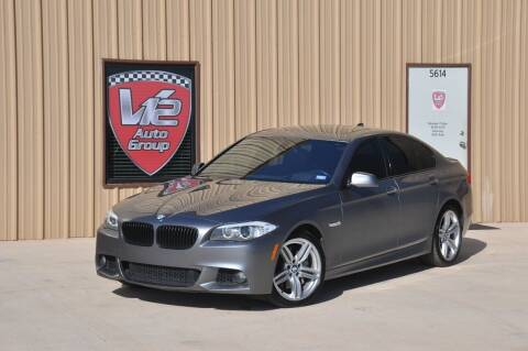 2011 BMW 5 Series for sale at V12 Auto Group in Lubbock TX