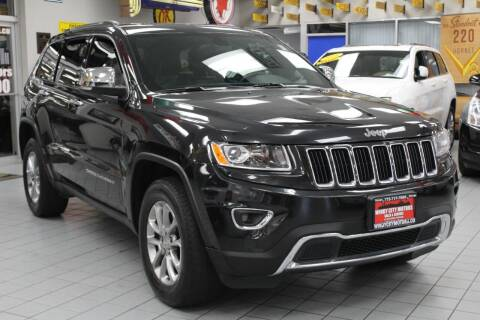 2015 Jeep Grand Cherokee for sale at Windy City Motors in Chicago IL