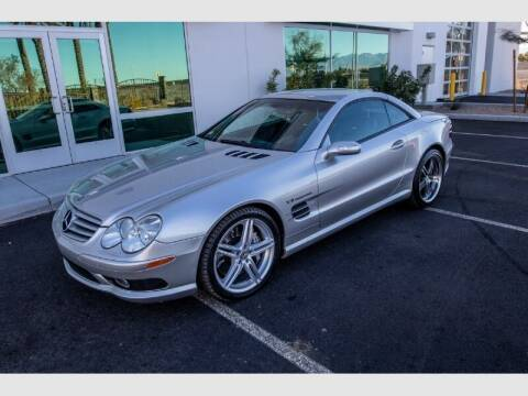 2004 Mercedes-Benz SL-Class for sale at REVEURO in Las Vegas NV
