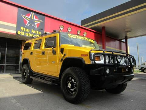 2003 HUMMER H2 for sale at Star Auto Inc. in Murfreesboro TN