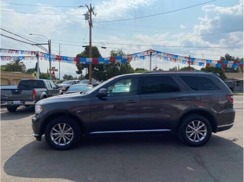 2016 Dodge Durango for sale at Dealers Choice Inc in Farmersville CA