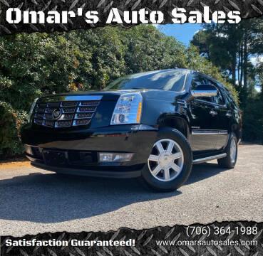 2011 Cadillac Escalade for sale at Omar's Auto Sales in Martinez GA