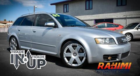 2005 Audi S4 for sale at Rahimi Automotive Group in Yuma AZ