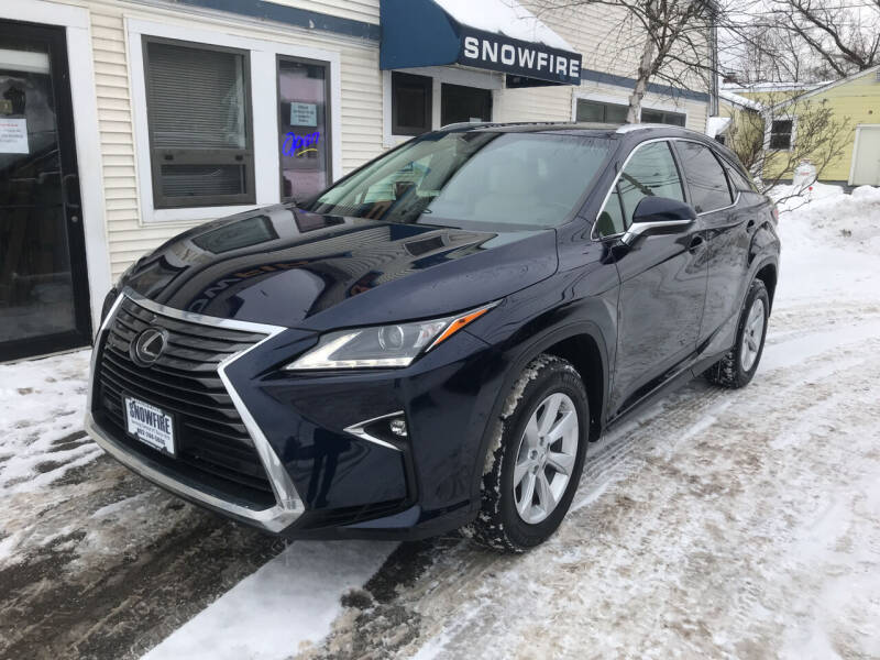 2017 Lexus RX 350 for sale at Snowfire Auto in Waterbury VT