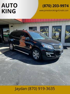 2017 Chevrolet Traverse for sale at AUTO KING in Jonesboro AR