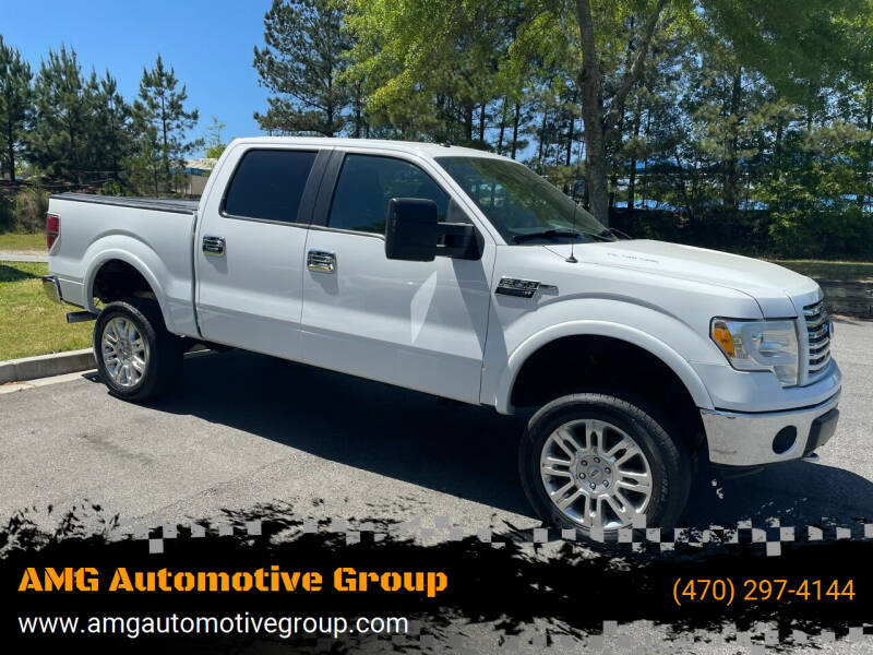 2011 Ford F-150 for sale at AMG Automotive Group in Cumming GA