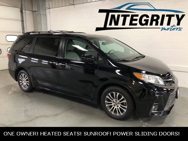 2018 Toyota Sienna for sale at Integrity Motors, Inc. in Fond Du Lac WI