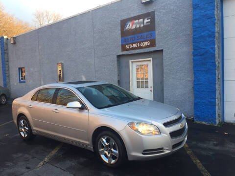 2010 Chevrolet Malibu for sale at AME Auto in Scranton PA