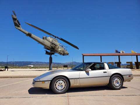 1986 Chevrolet Corvette for sale at Pikes Peak Motor Co in Penrose CO