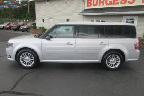 2013 Ford Flex for sale at Burgess Motors Inc in Michigan City IN