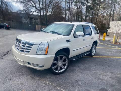 2008 Cadillac Escalade for sale at BRAVA AUTO BROKERS LLC in Clarkston GA