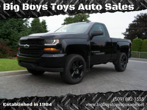 2016 Chevrolet Silverado 1500 for sale at Big Boys Toys Auto Sales in Spokane Valley WA